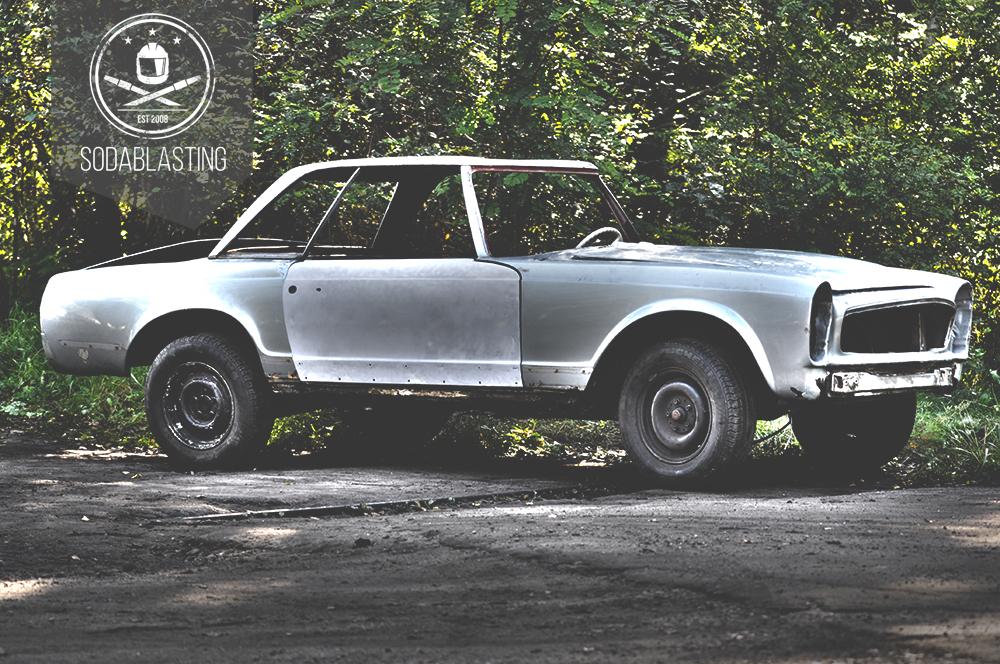 MERCEDES W113 PAGODA 1963